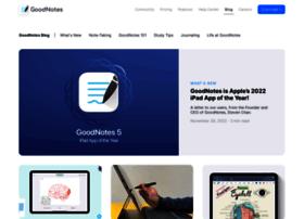 blog.goodnotesapp.com
