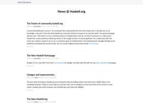 blog.haskell.org
