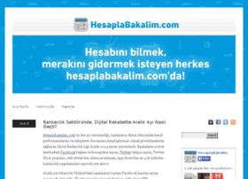 blog.hesaplabakalim.com