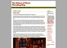 blog.historyofphonephreaking.org