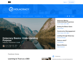 blog.holacracy.org