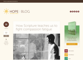 blog.hopeinternational.org