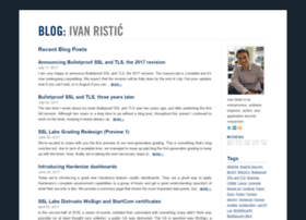 blog.ivanristic.com