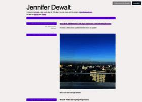 blog.jenniferdewalt.com