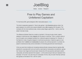 blog.joellehman.com