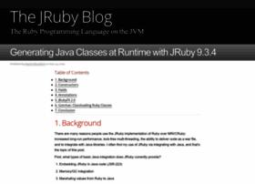 blog.jruby.org
