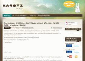 blog.karotz.com