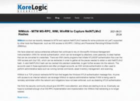 blog.korelogic.com