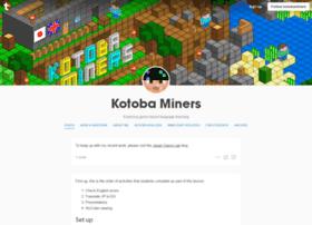 blog.kotobaminers.org