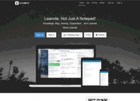 blog.leanote.com