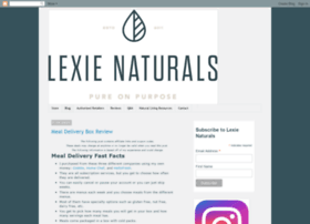 blog.lexienaturals.com