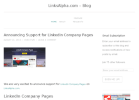 blog.linksalpha.com