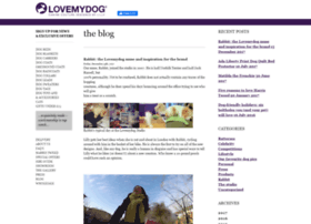 blog.lovemydog.co.uk