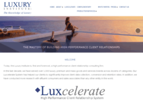 blog.luxuryinstitute.com