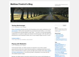 blog.mafr.de