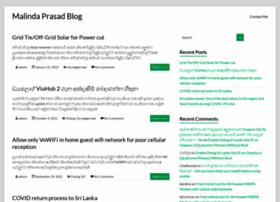 blog.malindaprasad.com