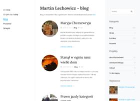 blog.martinlechowicz.com