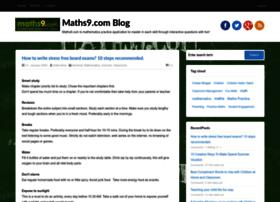 blog.maths9.com