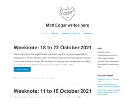 blog.mattedgar.com