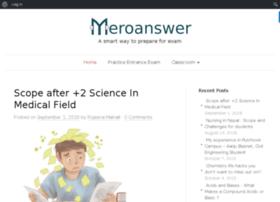 blog.meroanswer.com