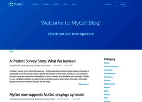 blog.myget.org