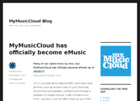 blog.mymusiccloud.com