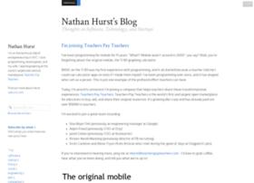 blog.nahurst.com
