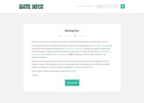 blog.natebeck.net