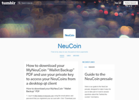 blog.neucoin.org
