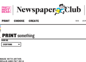 blog.newspaperclub.co.uk