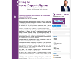 blog.nicolasdupontaignan.fr