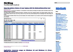 blog.nirsoft.net