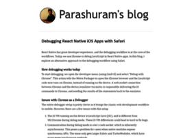 blog.nparashuram.com