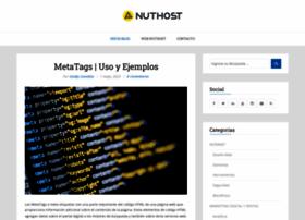blog.nuthost.com