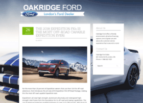 blog.oakridgeford.com