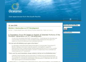 blog.oceanic.com.fj