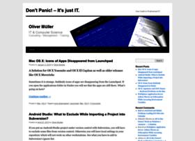 blog.oliver-mueller.com