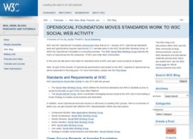 blog.opensocial.org