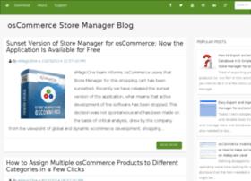blog.oscommerce-manager.com