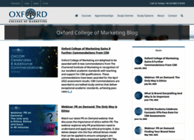 blog.oxfordcollegeofmarketing.com
