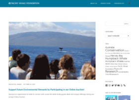 blog.pacificwhale.org