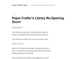 blog.papercrafterslibrary.com