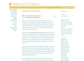 blog.paracletepress.com