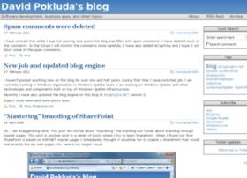blog.pokluda.com