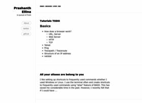 blog.prashanthellina.com