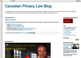 blog.privacylawyer.ca