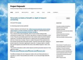 blog.projectpolymath.org