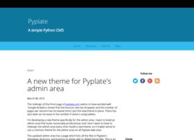 blog.pyplate.com