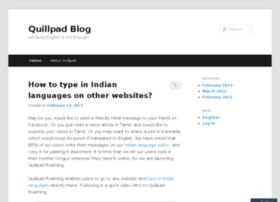 blog.quillpad.in