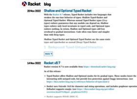 blog.racket-lang.org